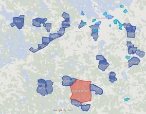 Katso kartalta mistä Riennon karttoja löytyy.