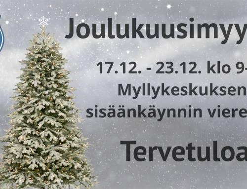 Joulukuusimyynti